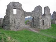 Y castell, Castellnewydd Emlyn