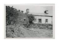 Front view of Penrhiw cottage