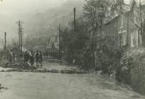 Aftermath of Dolgarrog dam disaster