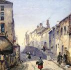 Morris Lane c1850 by William Butler (detail)