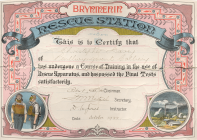 Brynmenyn Rescue Station Training Course...