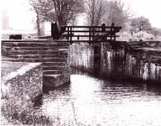 Canal lock on the Neath Canal
