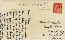 Postcard from Ada, Barry Island 1923