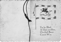 Welsh Christmas Card, 1929