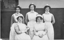 Nurses from the Royal Infirmary, Bradford