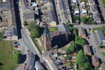 Awyrlun o Eglwys Crist, Glyn Ebwy