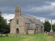 Llanfair Cilgedin church