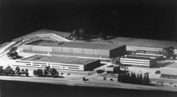 Model of the New Royal Mint Building, Llantrisant