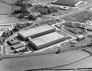 Aerial view of the Royal Mint, Llantrisant