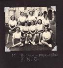 Bangor Normal College Women's Hockey Team