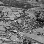 Aerial view of Dolgellau in 1950