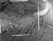 Aerial view of Bala, 1957