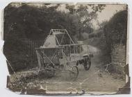 Two seater cycle car, built by the Abergavenny...