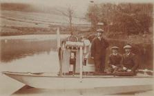 Hydroplane built by the Abergavenny-based...