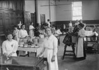 Dairy Class in the Town Hall, Montgomery c. 1920