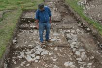 Abermagwr Roman Villa excavation