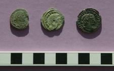 Abermagwr Roman Villa excavation - Roman coins (1)