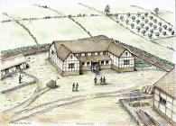Abermagwr Roman Villa reconstruction