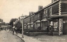 Postcard of Old Church Road, Whitchurch, Cardiff