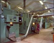 Operating Tobacco Processing Machine Cardiff 1970s