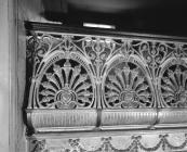 Coliseum, Aberystwyth - detail of balcony