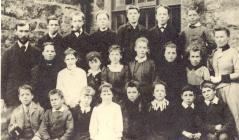 Capel Garmon School, about 1893–5