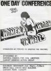 Women at Work in Wales Leaflet p1