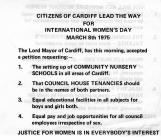 Justice for Women in 1975