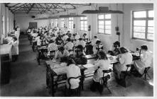 Women working in CWS shirt factory c1940s