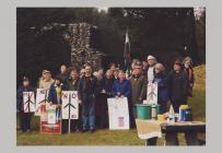 Gr?p Protest Cefn Croes wrth y Bwa