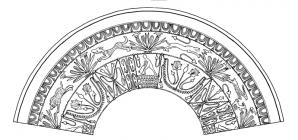 Decoration from Roman Fort & Fortlet at...