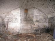 Cardigan Castle vaulted basement
