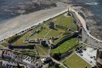 Aberystwyth: castle, war memorial and crazy golf