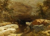 Landscape, Porth-yr-ogof, Vale of Neath
