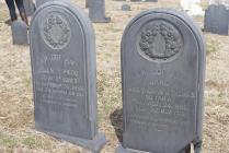 Gravestones, Slateville Cemetery, Slateville, PA