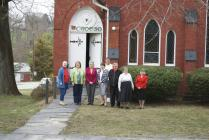 Members of the Rehoboth Welsh Chapel group