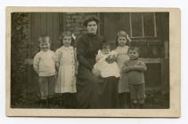 Phoebe Davies with children