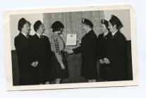 Presentation of Queen's Guide Certificate