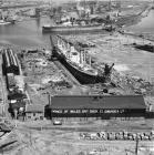 Prince of Wales Dock, Swansea, 1949
