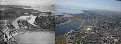 Then and now: Barry Docks