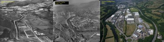 Then & Now: Treforest Trading Estate