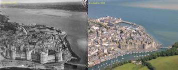 Then & Now: Caernarfon