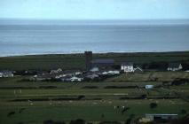 Llansantffraed Parish Church by Cardigan Bay