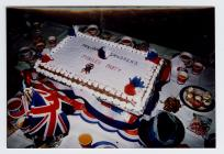 The cake, Jubilee Party, old Penparcau School