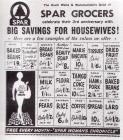Spar Grocers advert