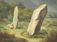 Waun Lwyd Stone Pair, Mynachlog Ddu