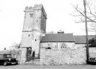 St. David's Church, Laleston 1977