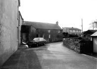 Former Farmhouse Serving Ty Mawr, Laleston 1977