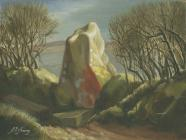 Carreg Coitan Arthur Standing Stone, Puncheston