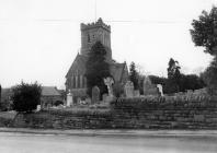 All Saints Church, Penyfai. 1977